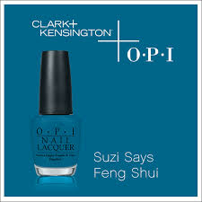 Clark And Kensington Opi Color Chart Suzi Says Feng Shui By Opi Clark Kensington In