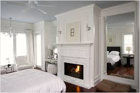 mirrors above bed pranksenders bedroom traditional charleston fireplace ceiling fan