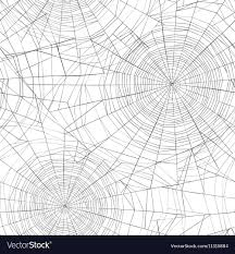Spider Web Pattern Stunning Halloween Seamless Pattern Spider Web Background Vector Image