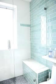 glass penny tiles blue glass shower tiles design ideas glass penny tile bathroom floor blue glass