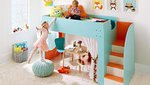 cool loft beds for kids. Picture Of Kids Playing Around A Loft Bed Cool Beds For S