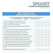 Job Satisfaction Survey Template Interesting Degree Feedback Survey Template Employee Evaluation Forms Form