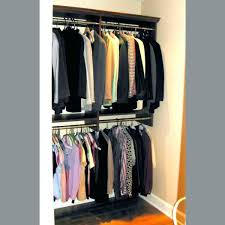 double rod closet awesome rack organizer home remodel decorating throughout 9