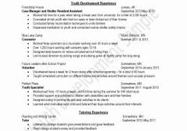 Child Life therapist Sample Resume Inspirational Resume Working with  Children