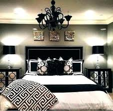Luxurious Black And White Bedroom N Ideas Gold Interior Design ...