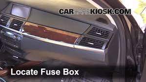 interior fuse box location bmw x bmw x interior fuse box location 2007 2013 bmw x5 2013 bmw x5 xdrive35i 3 0l 6 cyl turbo