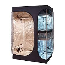 if you have a serious love affair with vegetables the topogrow 2 in 1 indoor grow tent is a darling built like a fridge which can be stashed on a corner