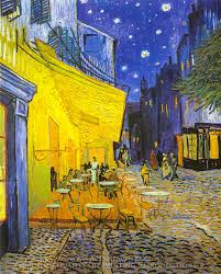 vincent van gogh cafe terrace at night oil painting reion