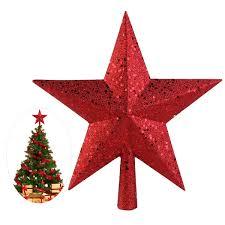 Großhandel Nicexmas 9 Zoll Schätze Red Glittered Mini Star Christmas Tree Topper Für Weihnachten Dekoration Von Greenliv 3363 Auf Dedhgatecom
