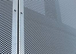 exterior curtain wall. metal mesh architectural exterior design for curtain wall e