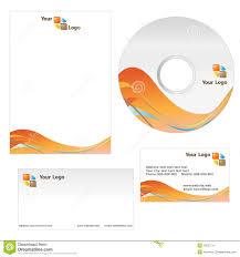 Business Card Letterhead Template Stock Vector Illustration Of
