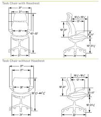 chair dimensions photo