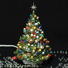 Ceramic Tabletop Christmas Tree With Lights New Ceramic Tabletop Christmas Tree With Lights Glamorous Small Tabletop