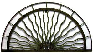 semi circle metal wall art
