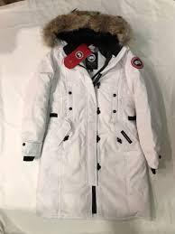 BRAND NEW CANADA GOOSE Women s Kensington Parka Style 2506L White Size XS