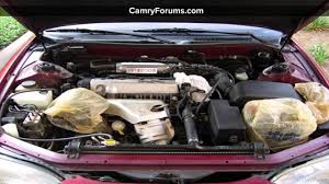 How to Clean the Toyota Camry Engine Bay - YouTube