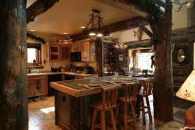 Log Cabin Kitchen Decor Kitchen Colors With Wood Cabinets Best Design Ideas 2017