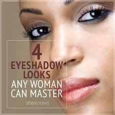 pin eyeshadow looks for women
