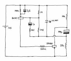 circuit diagram (schematic) of single cell led flasher with two Led Flasher Wiring Diagram circuit diagram (schematic) of single cell led flasher with two year battery life circuits pinterest circuit diagram, tech and electronics projects grote led flasher wiring diagram