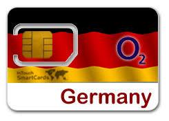 international o2 sim card for germany