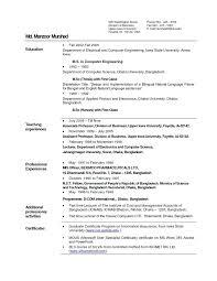 Sample Resume For Freshers Pdf Topshoppingnetwork Com