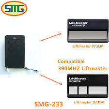chamberlain liftmaster garage door opener mini replace remote control973lm 390mhz ir remote one for all remote from baiheyu 27 95 dhgate