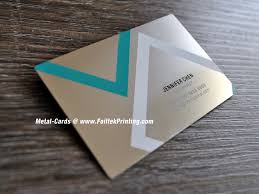 Steel Business Cards Metal Business Cards Custom Metal Printing On Business Cards