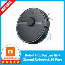 Robot Hút Bụi Lau Nhà Xiaomi Roborock S6 Pure giá rẻ 9.990.000₫