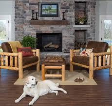 choosing rustic living room. Rustic Living Room Log Furniture Choosing