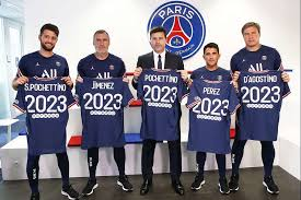 Shop official psg jerseys at world soccer shop. Mauricio Pochettino Under Contract With Paris Saint Germain Until 2023 Paris Saint Germain