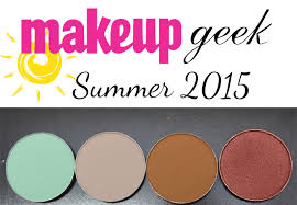 makeup geek summer 2016 eyeshadows