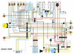 wiring diagram cb500 honda cafe racer cb500