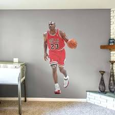 basketball wall decals life size officially licensed removable wall decal fathead basketball player wall decals