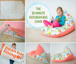 Easy Sew a Kids Bean Bag Chair How to