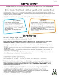 Ux Designer Resume Sample New Resume Template Professional Goals