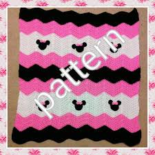 Minnie Mouse Crochet Blanket Pattern