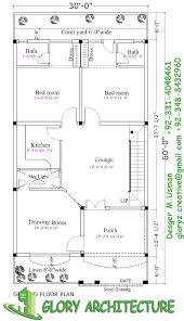 30x60 house plan elevation 3d view drawings stan picturesque plans