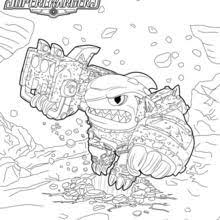 Color Alive Coloring Pages Skylanders Chronicles Network