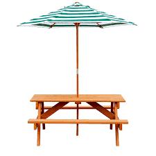 gorilla playsets 48 in brown cedar rectangle picnic table