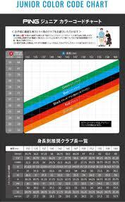 Ping Driver Shaft Chart 2019