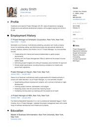 Projects On Resume Full Guide Project Manager Resume 12 Samples Word Pdf 2019