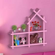 standard hut shaped wall shelf size