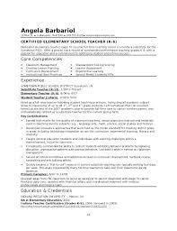 Teacher Resume Objective Samples – Lespa