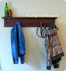 Coat Rack Idea DIY Antique Moulding Coat Rack 74