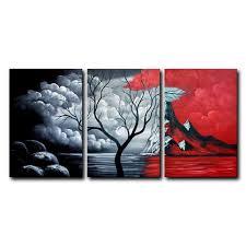 easy black canvas painting ideas kc