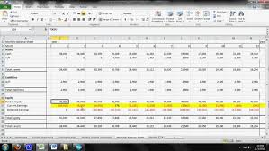 Financial Model Excel Spreadsheet Cafe Financial Model Tutorial Part 2 Cupad Coffee Cup Advertising
