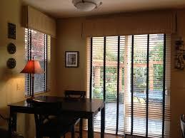 image of window treatments for patio door