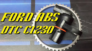 ford vehicles abs dtc c1230 diagnosis and repair ford vehicles abs dtc c1230 diagnosis and repair