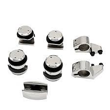 stainless steel sliding shower door roller brackets