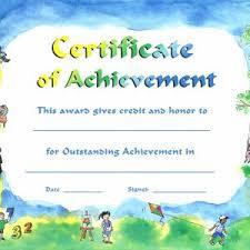 Kids Award Certificate Elegant Kids Summer Camp Diploma Certificate Template Award Ribbon
